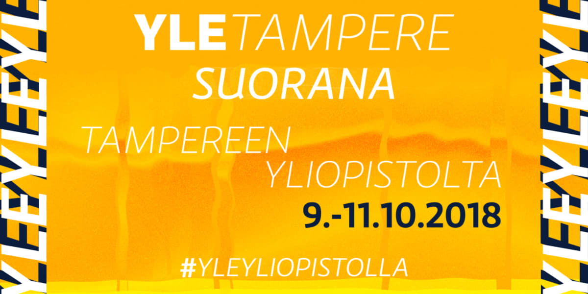 Yle Tampere yliopistolla