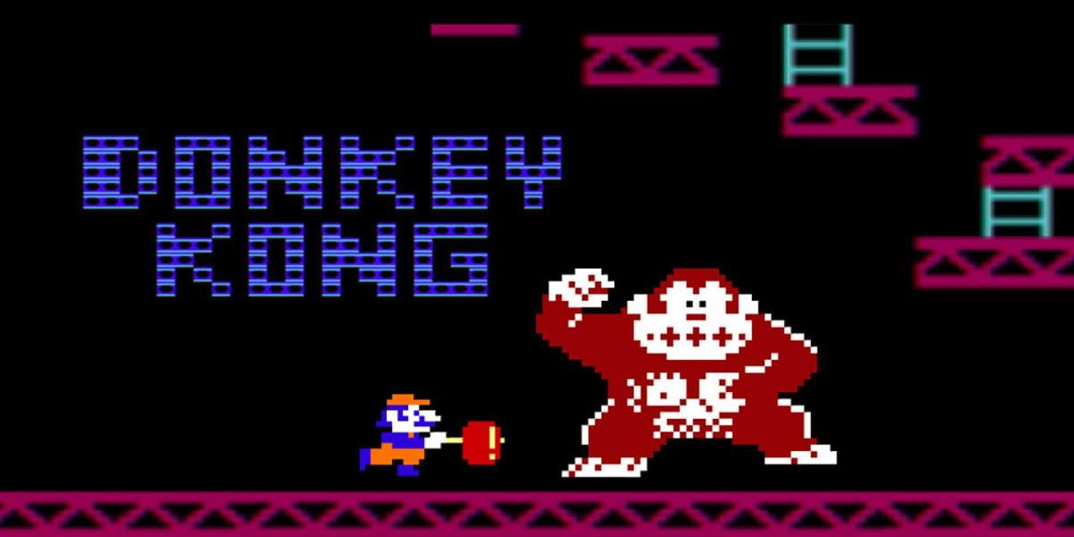 Klassinen Donkey Kong julkaistiin vuonna 1981