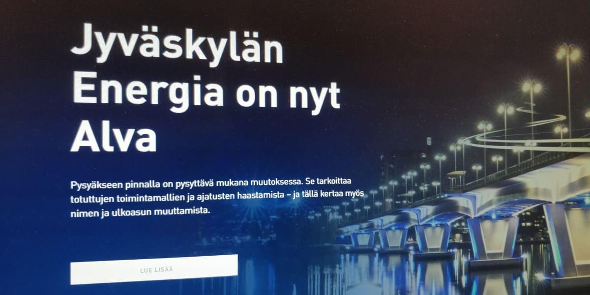 Kuvakaappaus Alva-yhtiöiden verkkosivuilta.