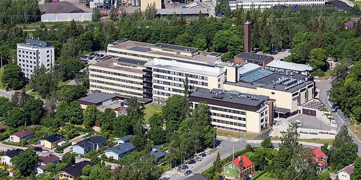 ilmakuva Salon sairaalasta