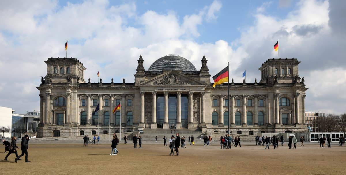 Berliinin liittopäivätalo