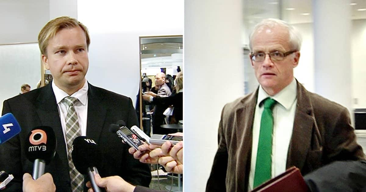 Antti Kaikkonen ja Jukka Vihriälä.