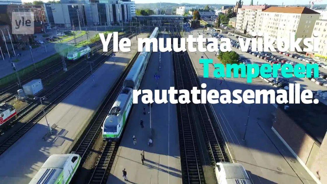 Tampereen rautatieasema täyttää 80 vuotta – Yle muuttaa viikoksi asemalle | Yle Uutiset | yle.fi