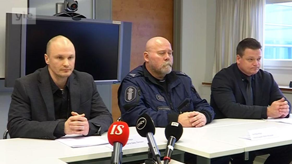 Poliisi Tiedotustilaisuus