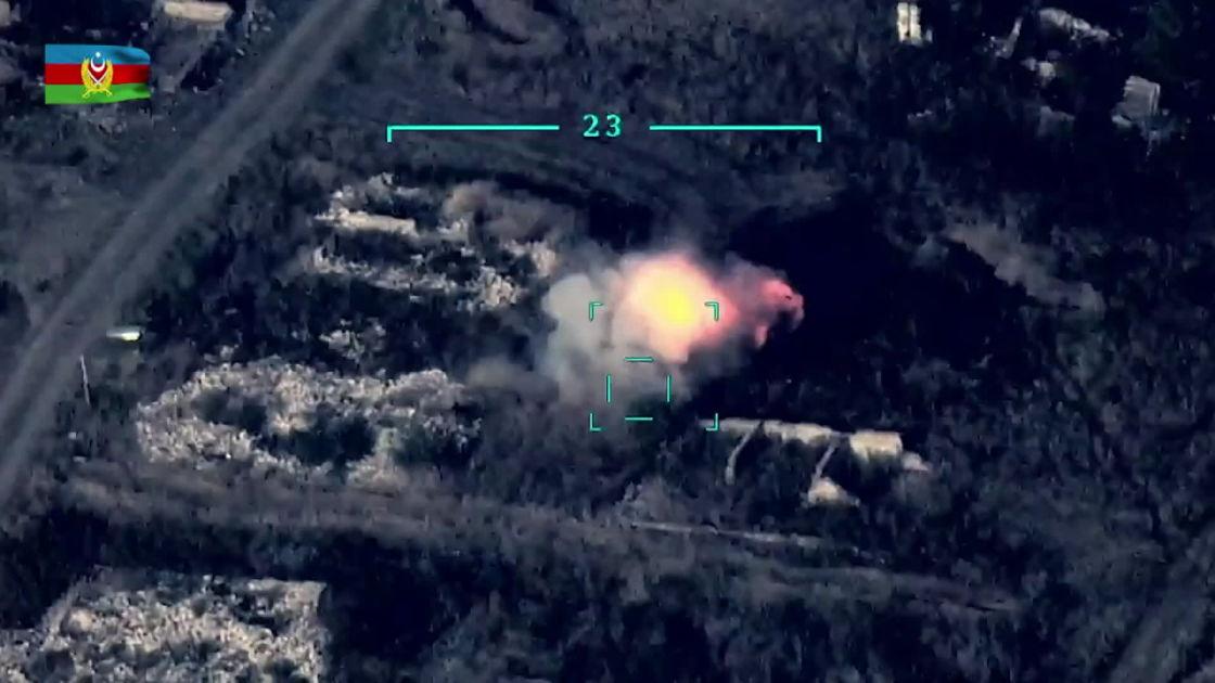 Taistelut jatkuvat Kaukasuksella  Azerbaidžan käy Turkin tuella...