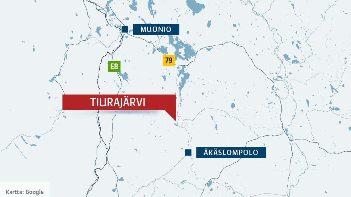 Moottorikelkkailija Kuoli Onnettomuudessa Muoniossa Yle Uutiset