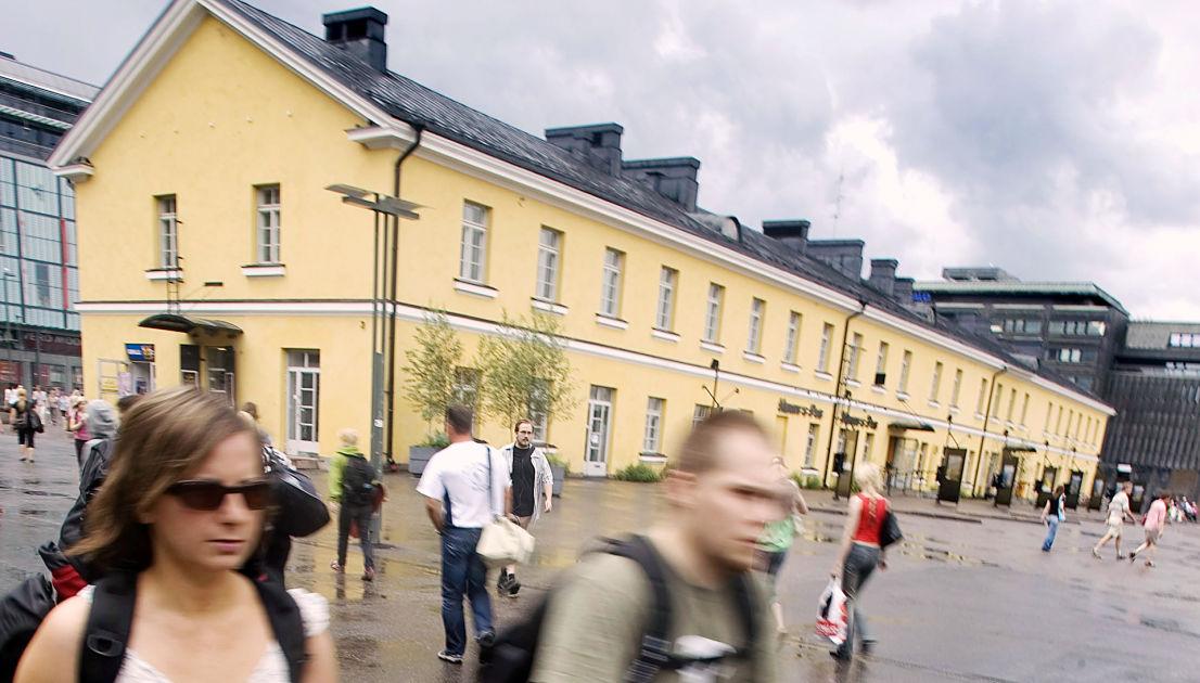 Reittiohjeet määränpäähän Kampin bussiterminaali Helsinki joukkoliikenteellä