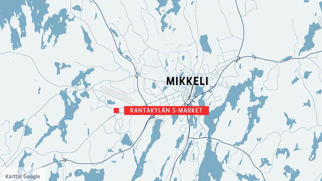 Mies Riehui Teraaseen Kanssa Mikkelin Rantakylassa Poliisi Ampui