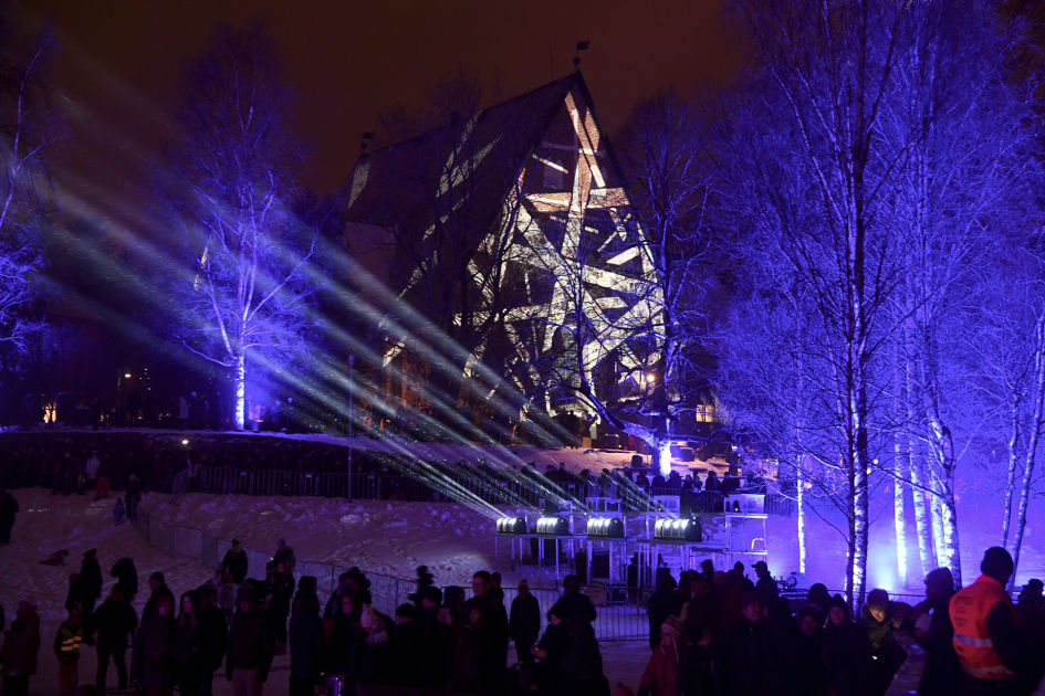 Laser Show Espoo