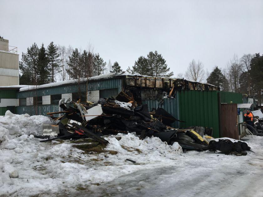Tulipalo Haapajärvi