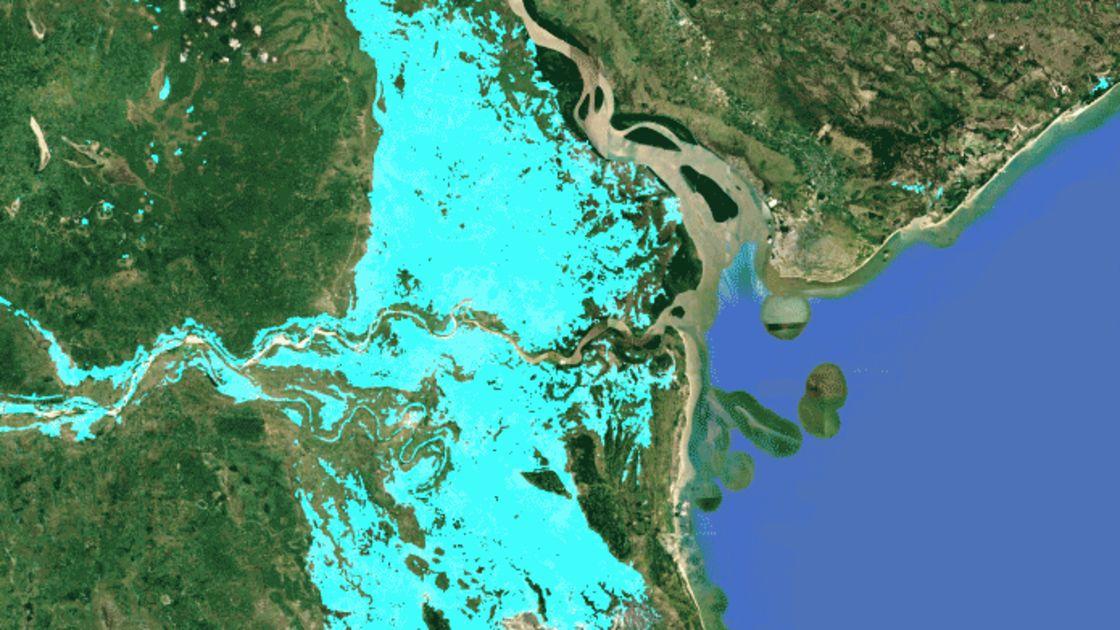 Kartta Nayttaa Mista Mosambikin Tulvakatastrofissa On Kyse Ylen