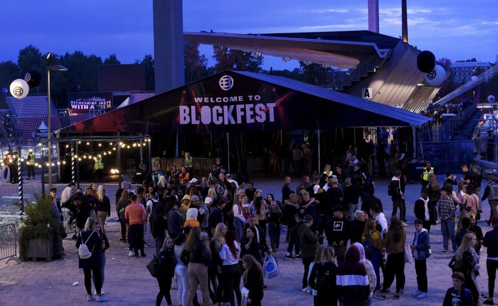 Blockfest Majoitus