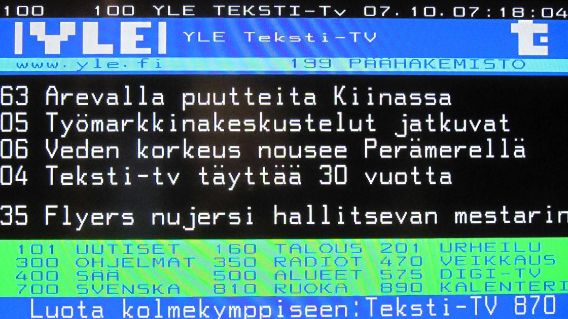 Yle Teksti-Tv