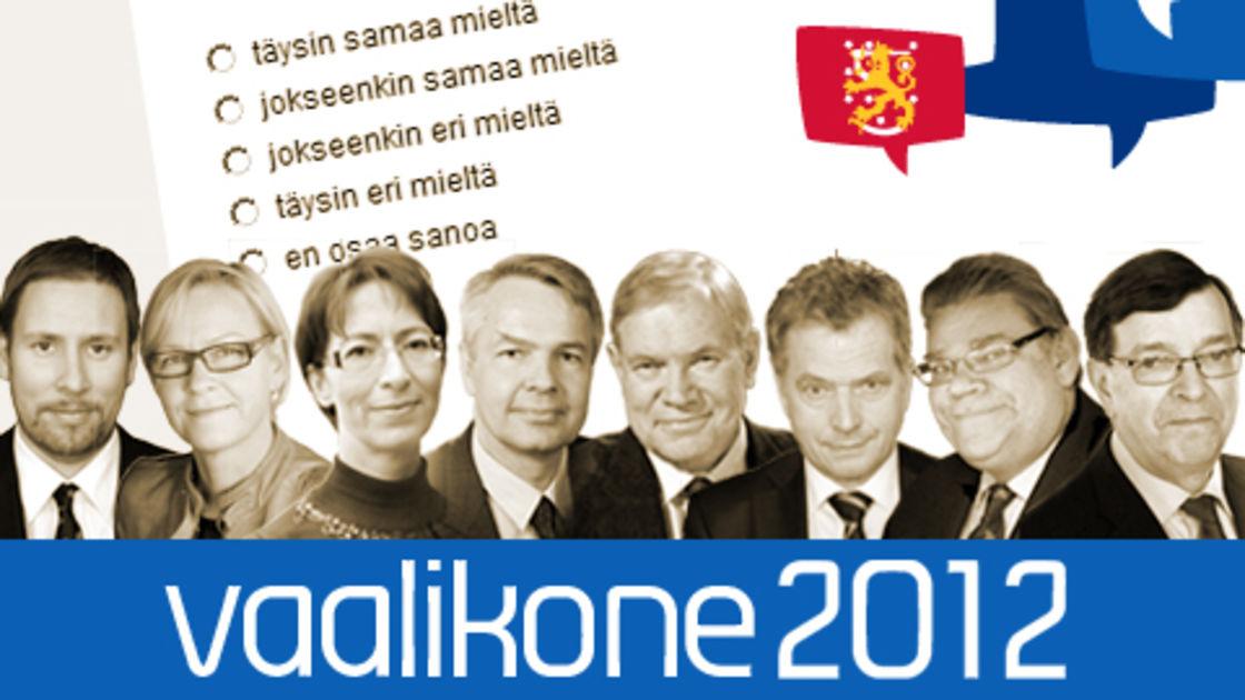 Vaalikone Kymenlaakso