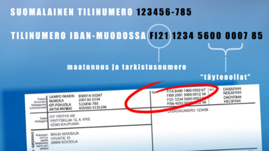 Iban Tilinumero