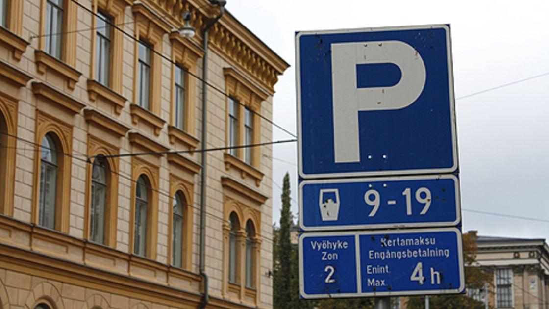 Pysäköinti Helsingissä