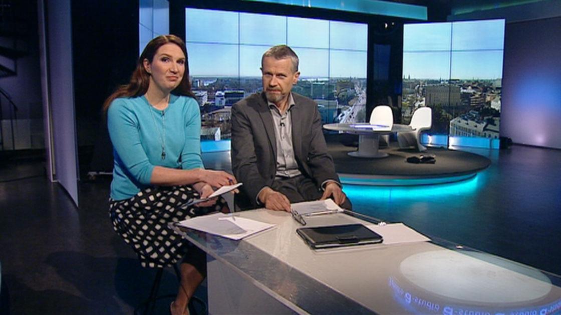 Syyrian sota sai tunteet kuumenemaan ja huonekalut lentämään tv-studiossa | Yle Uutiset | yle.fi
