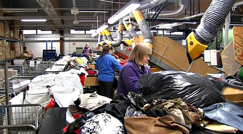 Vanhat vaatteet eivät enää päädy kaatopaikalle | Päijät Häme