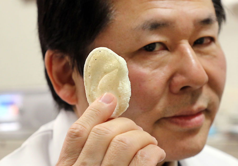 Japanilaistutkijat tuottavat ruumiinosia 3D-tulostimella