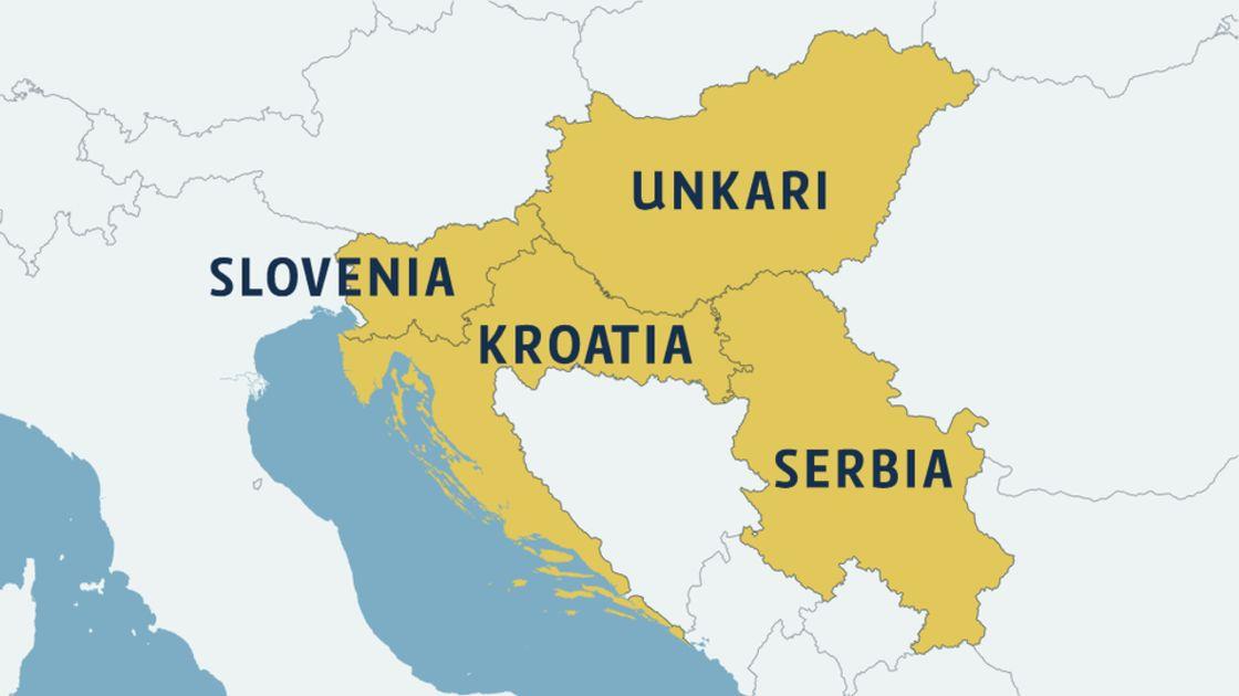Pakolaisvirta Siirtymassa Unkarista Kroatiaan Yle Uutiset Yle Fi
