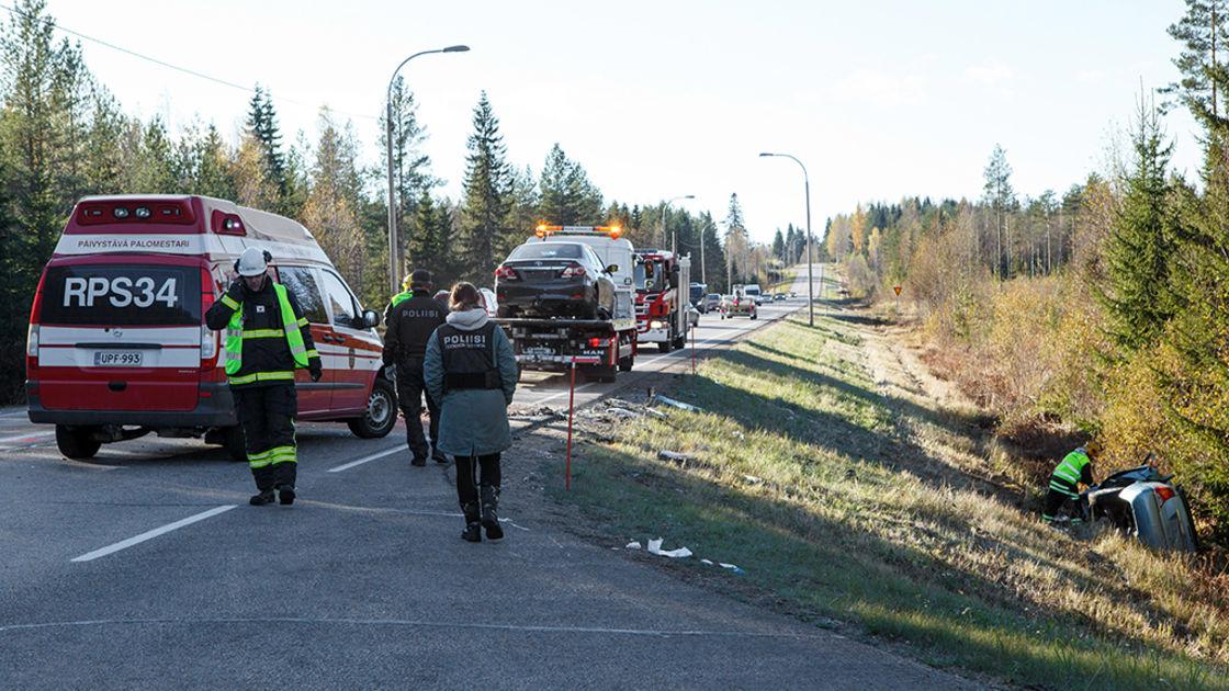 Liikenneonnettomuudet Suomessa