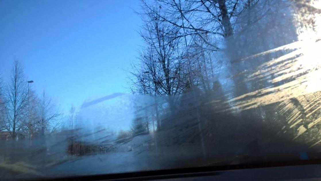 Auton Ikkunat Jäätyy Sisäpuolelta