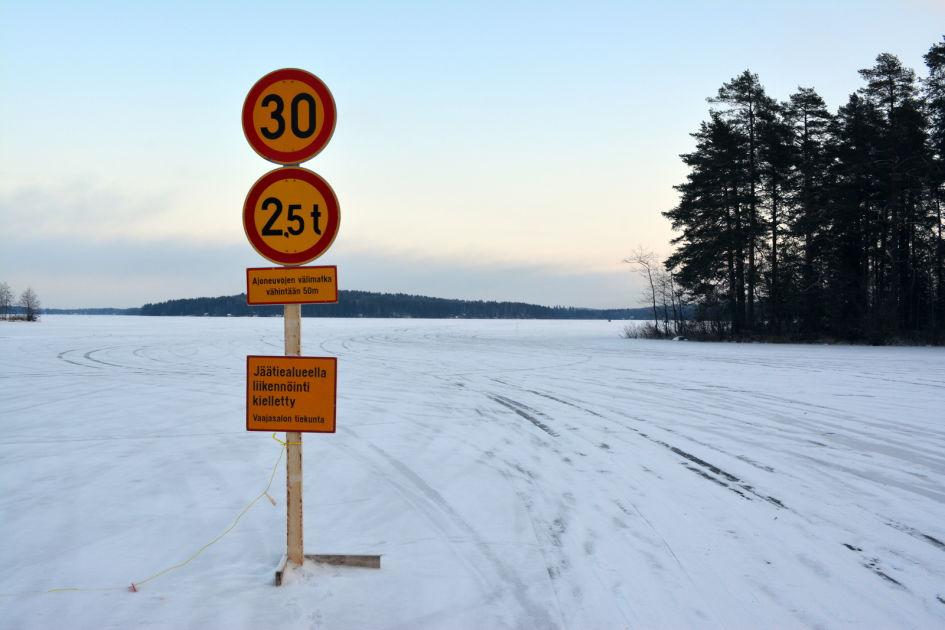 Vaajasalon Jaatie Avattiin Poikkeuksellisen Myohaan Kuopiossa