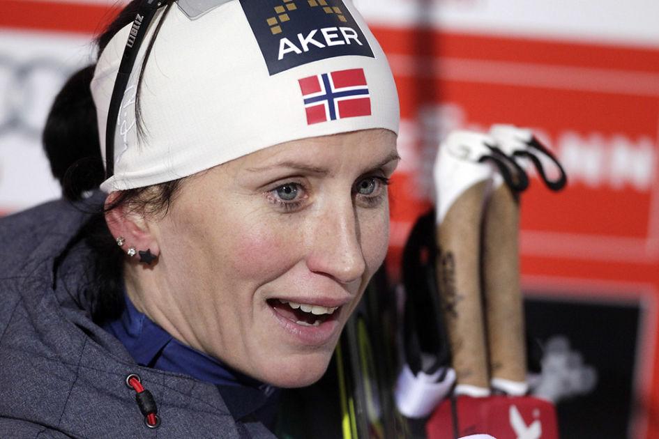 Marit Björgen heitti ilmoille rajun uhkakuvan