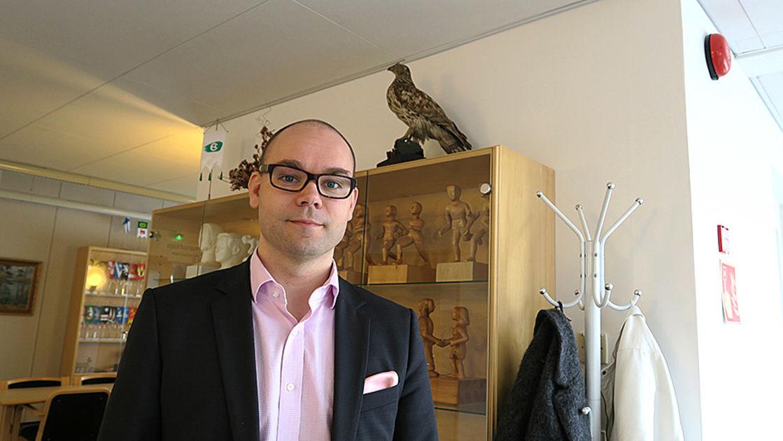 Tammelan kunnanjohtaja Kalle Larsson hakee Salon johtoon | Yle Uutiset | yle.fi