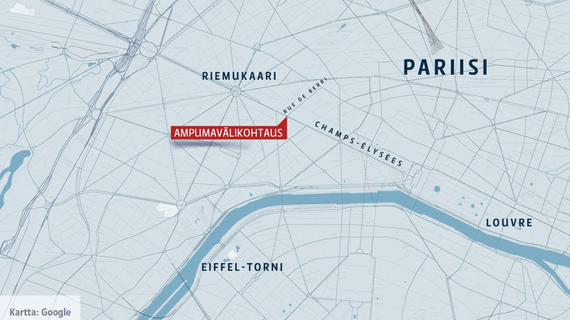 Pariisin Ammuskelu Taman Tiedamme Nyt Yle Uutiset Yle Fi