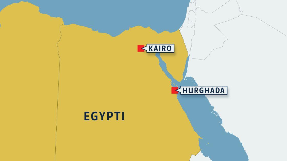 Egyptin Kartta Kartta Egypti Pohjois Afrikka Afrikka