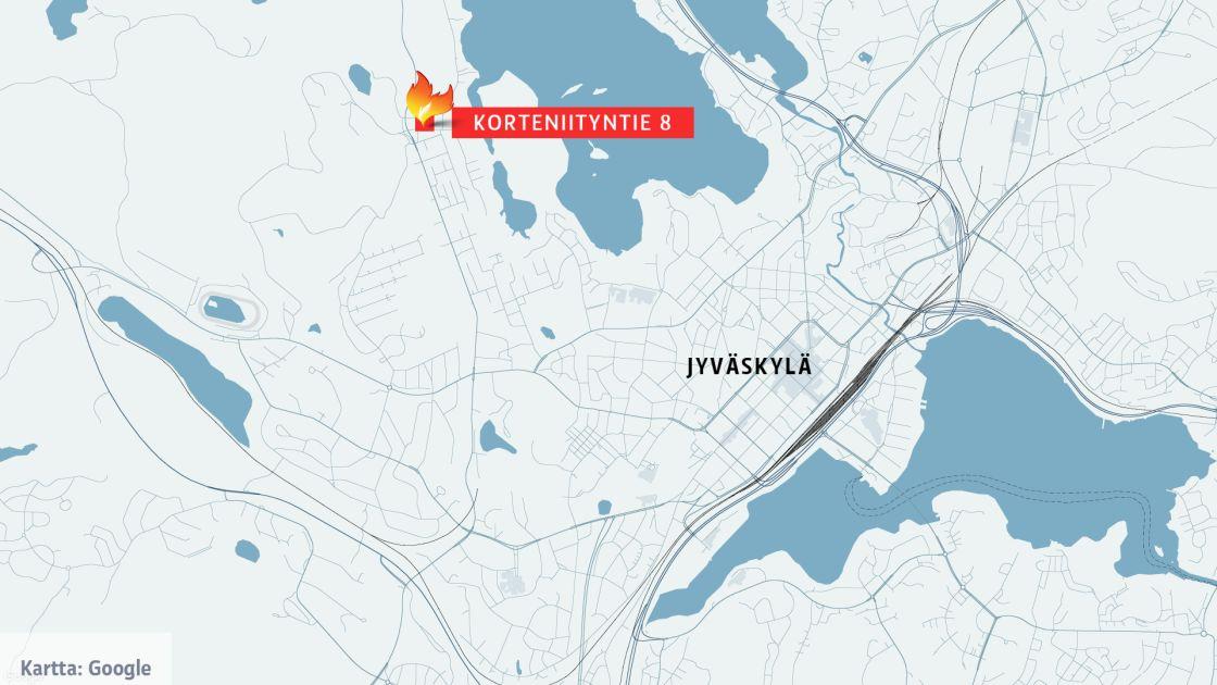 Jyvaskylassa Useita Ihmisia Evakuoitiin Kerrostalopalon Takia
