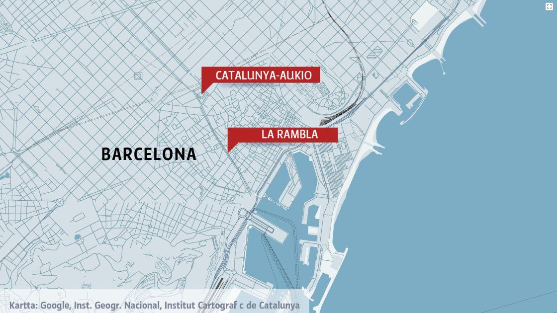 Oletko Paikalla Barcelonassa Kerro Meille Tietosi Yle Uutiset