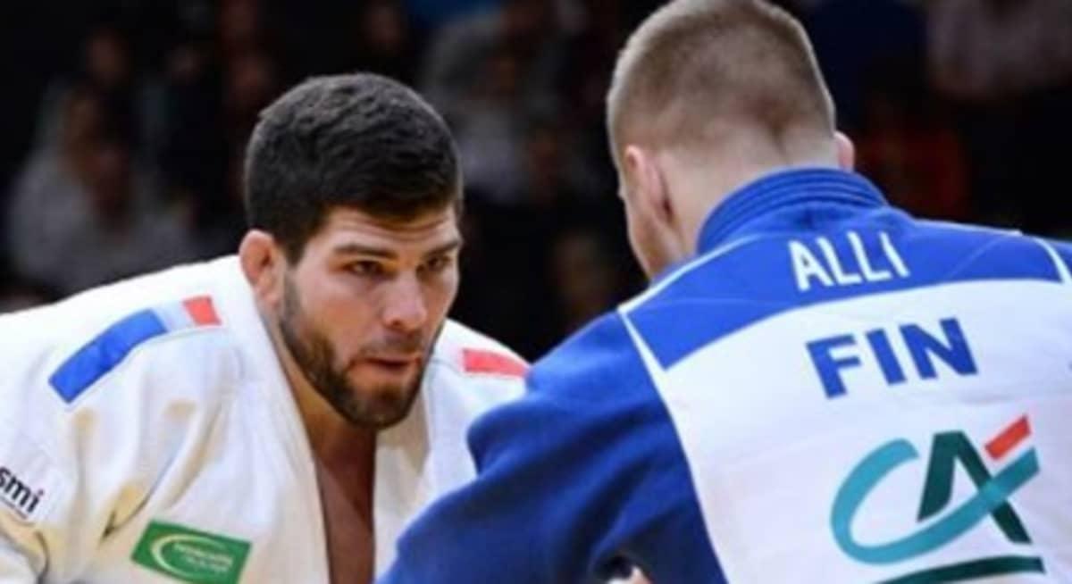 Rion olympiapronssimies Cyrille Maret ja Jaakko Alli