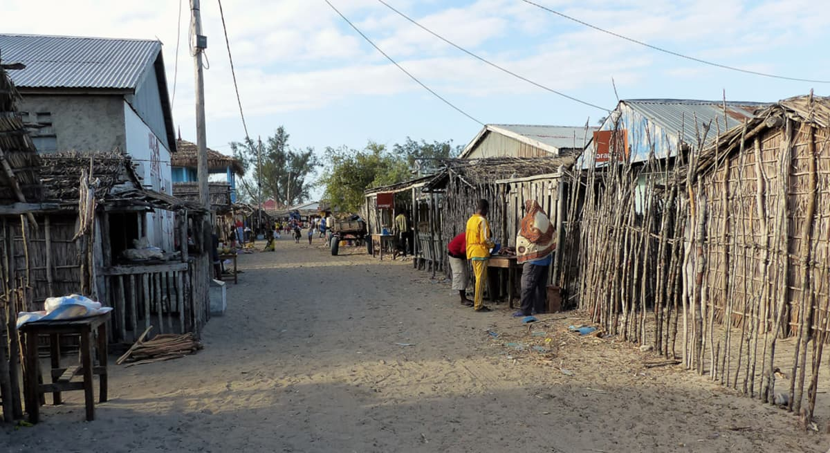 Madagaskarilainen katu.
