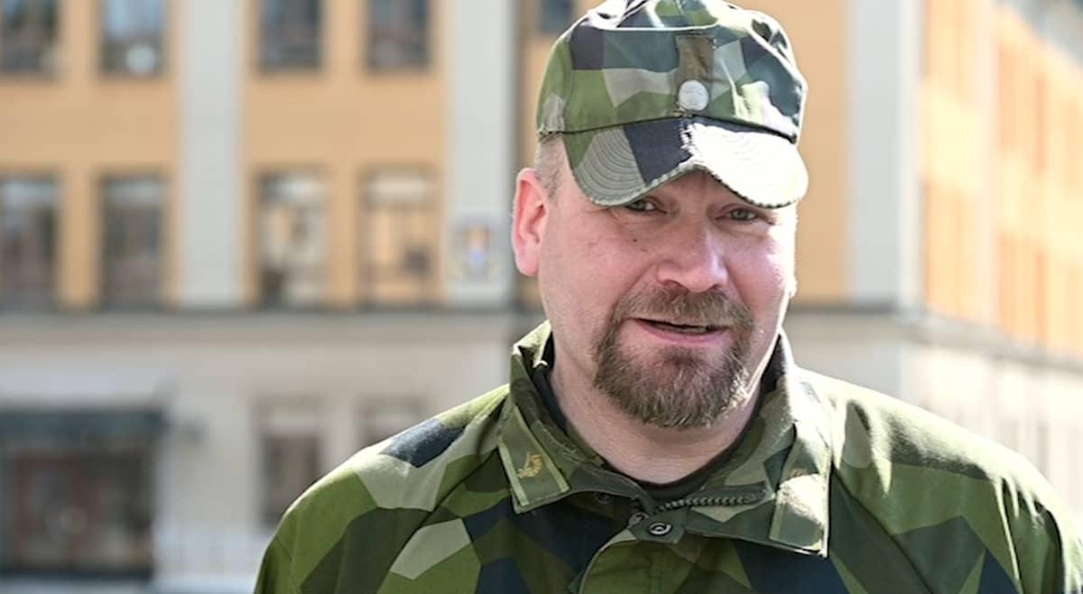 Vääpeli Magnus Förare Norrbottenin rykmentistä