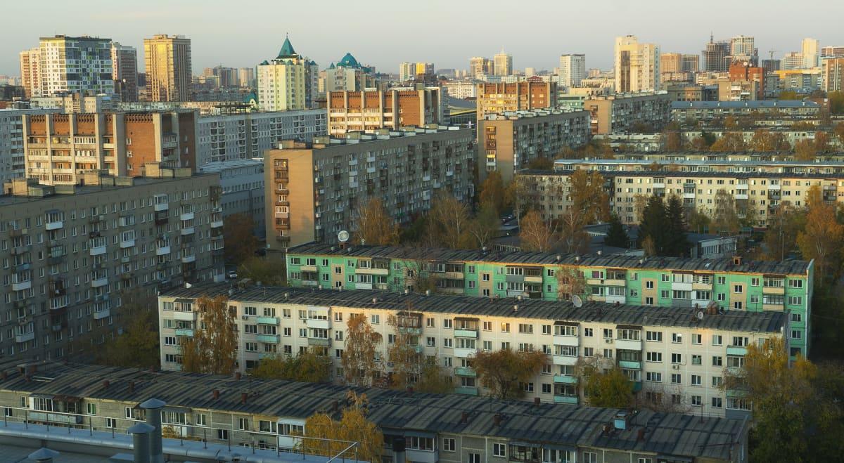 Puolentoista miljoonan asukkaan Novosibirsk on Venäjän kolmanneksi suurin kaupunki.
