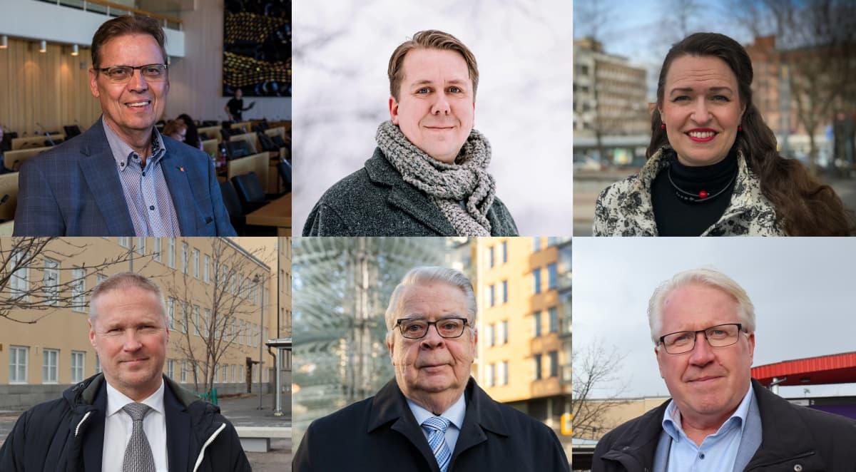 Tampereen pormestariehdokkaat.
