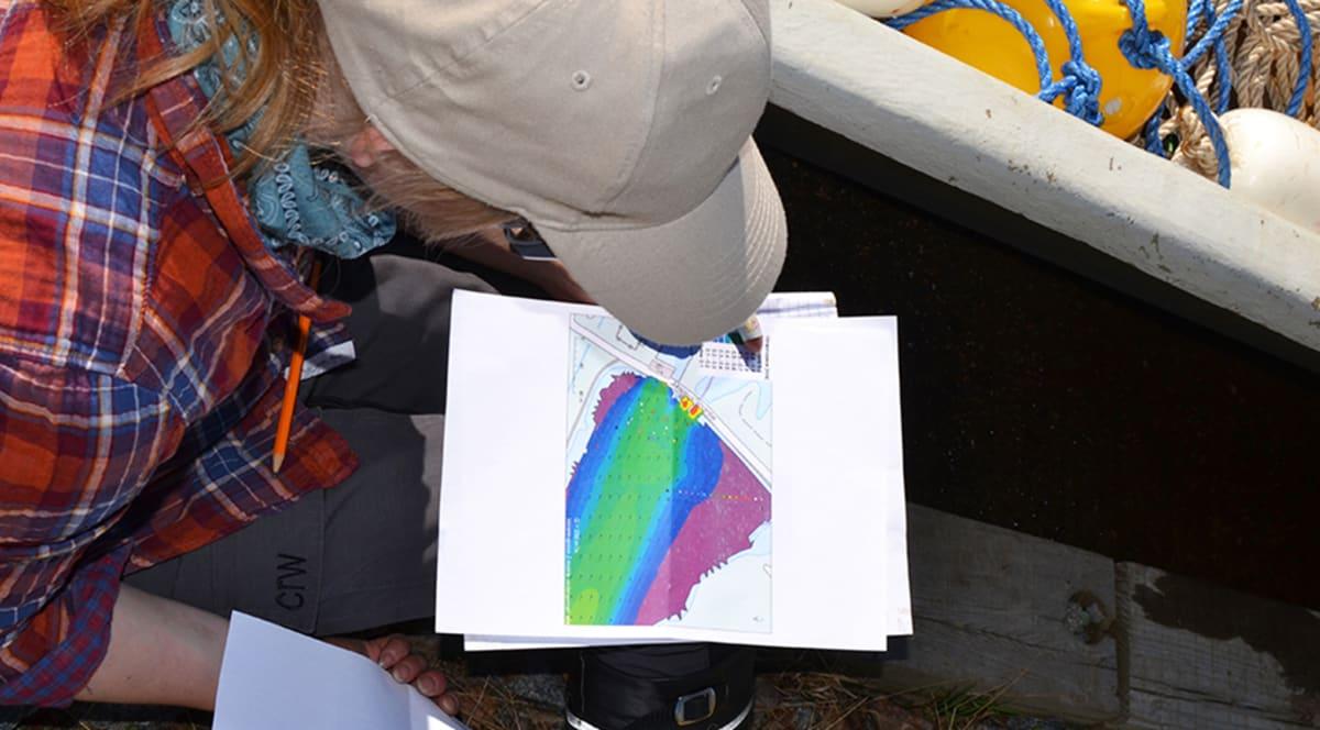 Lähettimillä varustettujen kalojen liikkeista saadaan tarkka tuloste.