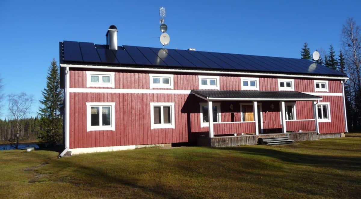 Hans Ojan talo Ruotsin Pajalassa.