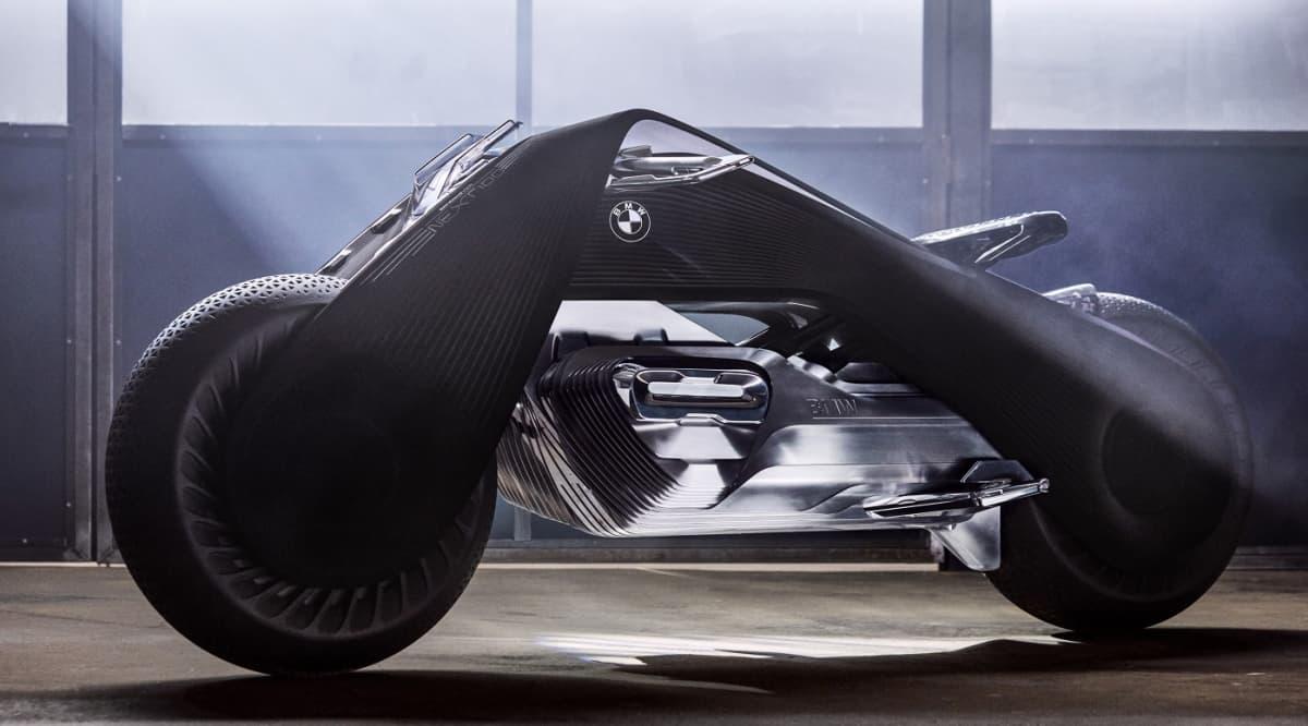BMW:n visio moottoripyöräilyn tulevaisuudesta.