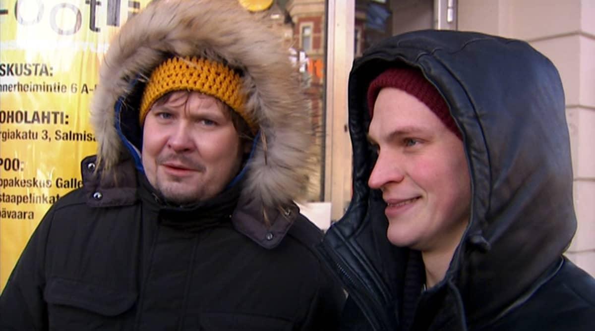 Janne Kataja ja Riku Nieminen.