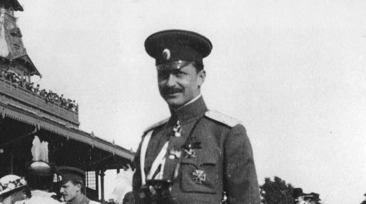 Mannerheim vuonna 1911.