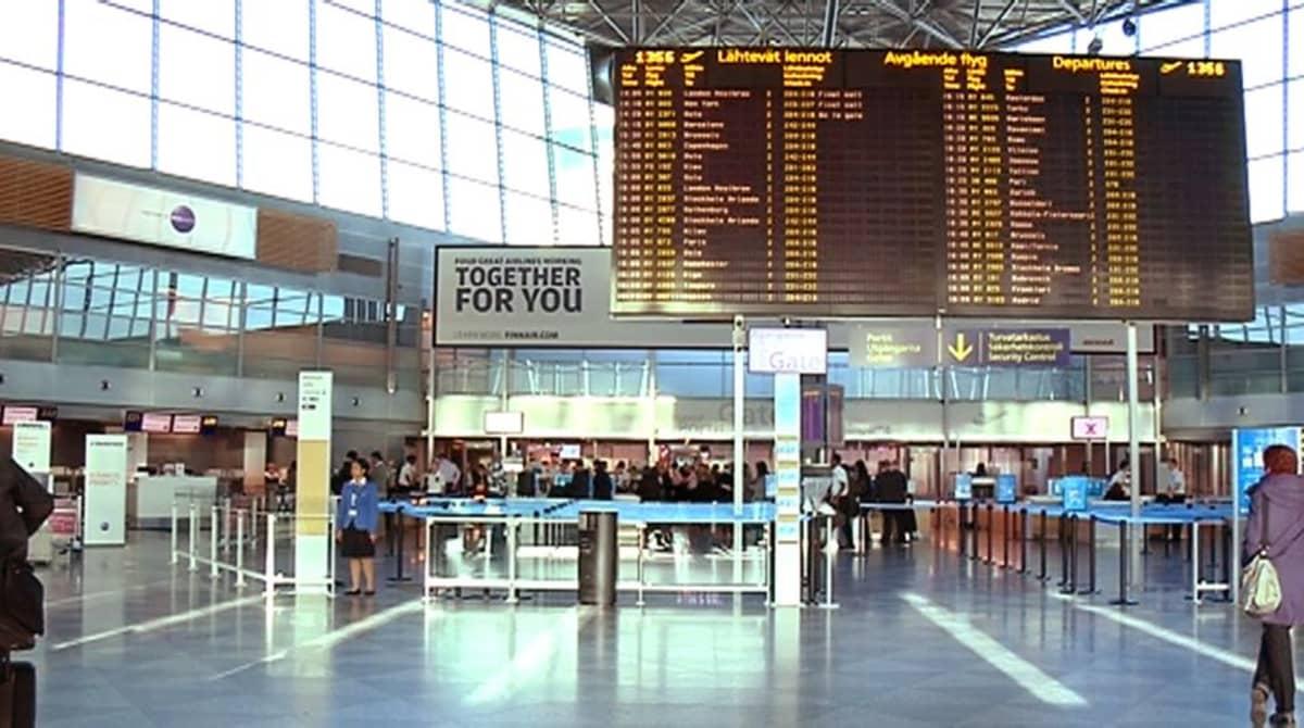 Helsinki-Vantaan lentokenttä lokakuussa 2013.