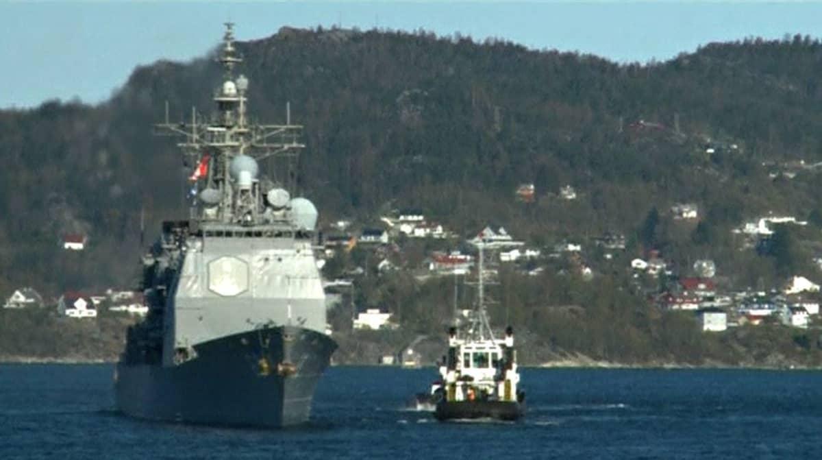 Naton alus Pohjanmerellä