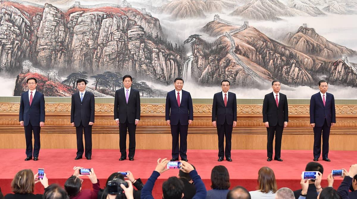 Kiinan johtajat