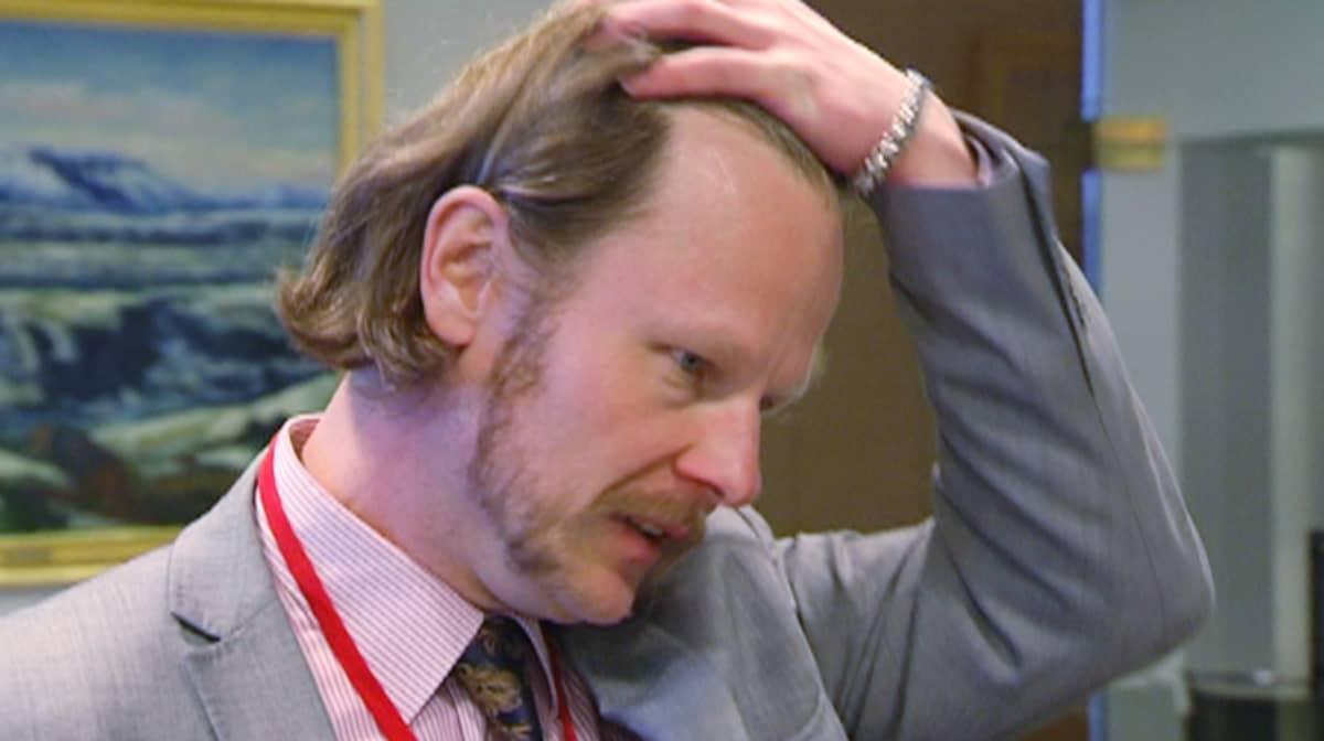 Kansanedustaja Juho Eerola (ps.).