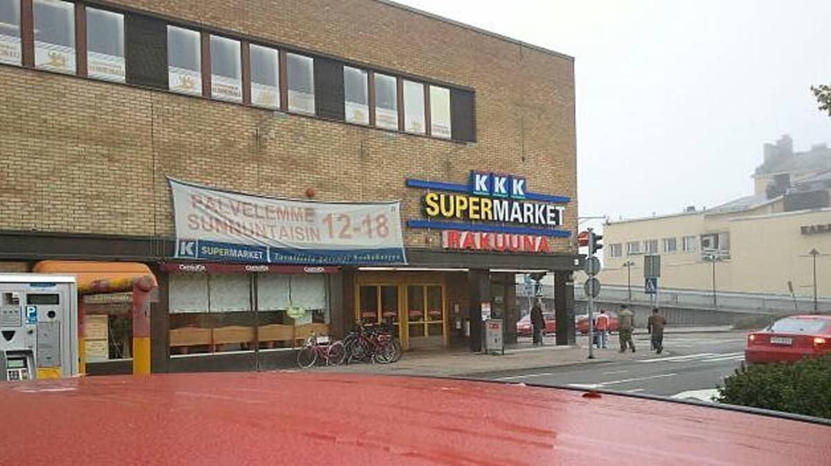 Supermarket Rakuuna Lappeenrannassa.