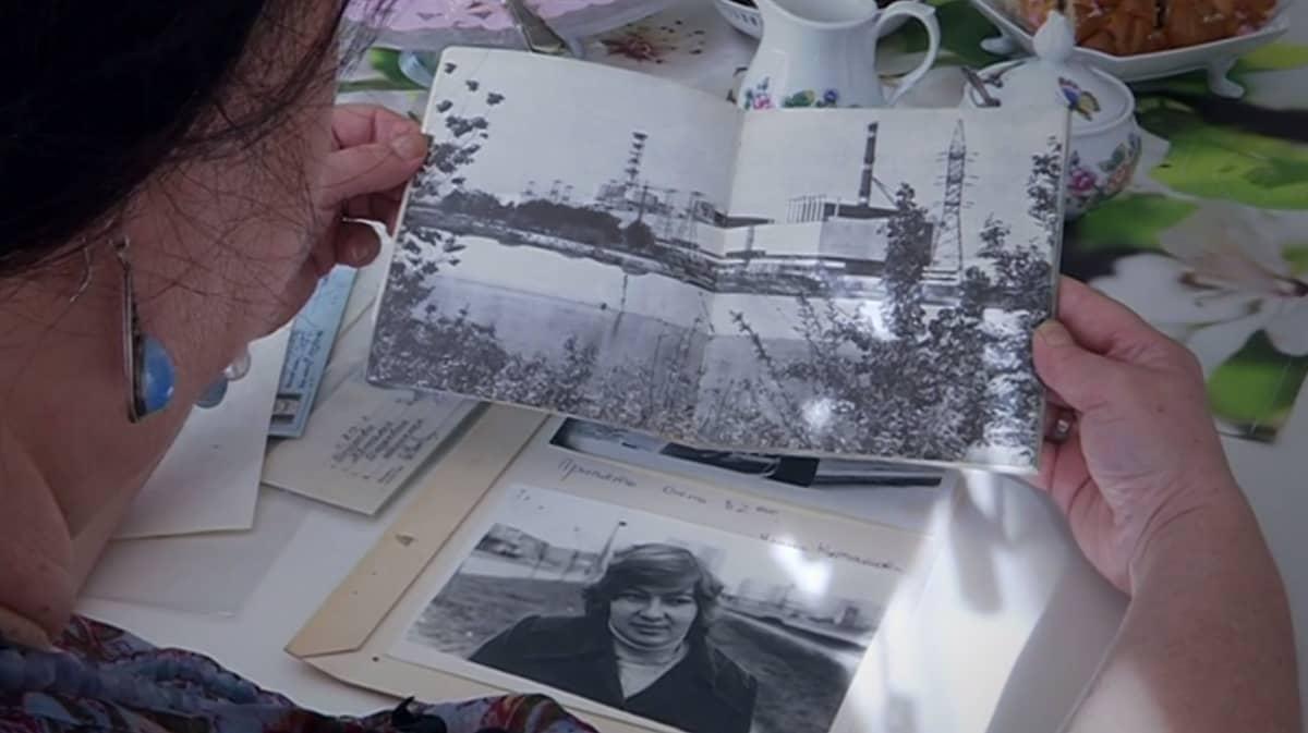 Natalia Stormin valokuvia 30 vuoden takaa.