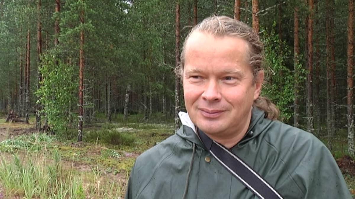 Projektipäällikkö Kimmo Syrjänen Suomen ympäristökeskuksesta
